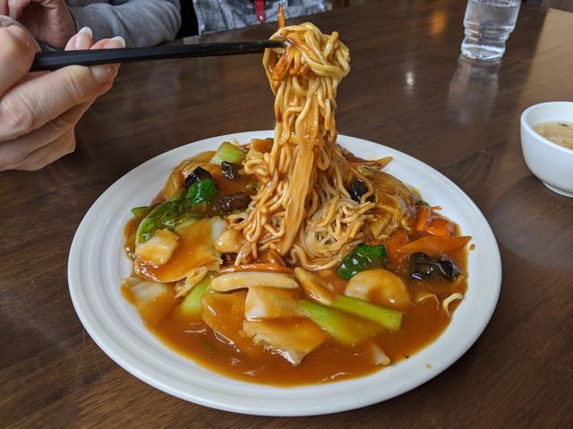 2020/03/20 Demio ランチ to 上海麺餃王