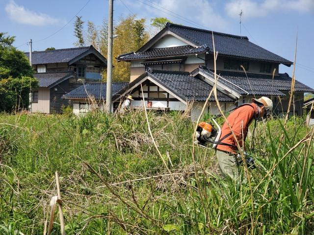 2020/05/14 六兵衛's Garden 草刈り