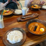 2020/07/27 Demio ランチ to Soup Curry & Cafe mogu