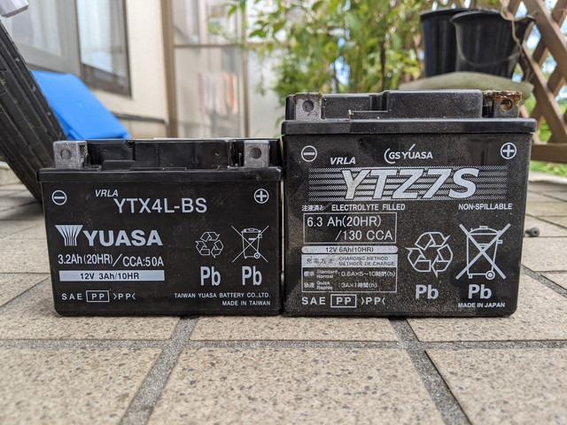 2021/08/21 JA07 メンテナンス(バッテリー交換)